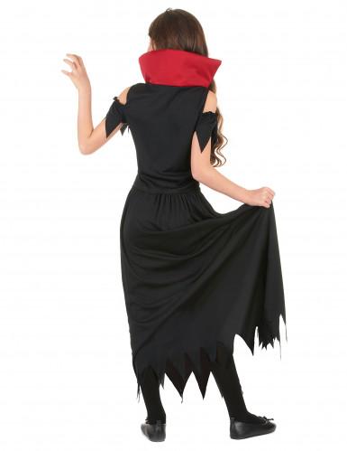 Disfarce vampiro menina Halloween-2