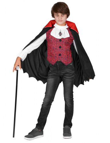 Disfarce de vampiro especial Dia das Bruxas para menino-1