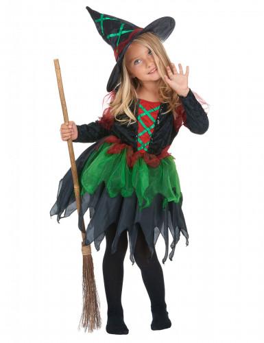 Disfarce bruxa do bosque rapariga Halloween