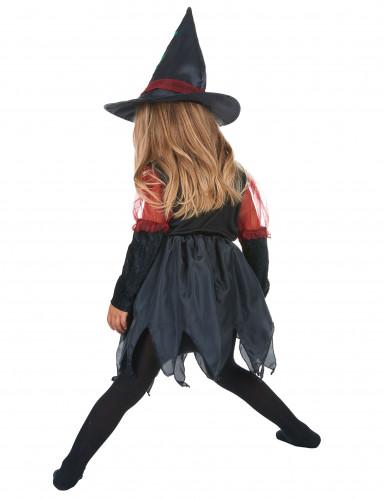 Disfarce bruxa do bosque rapariga Halloween-2