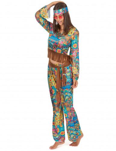 Disfarce de sasal Hippie-2