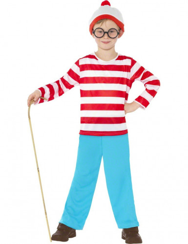 Disfarce Onde está o Wally?™ rapaz