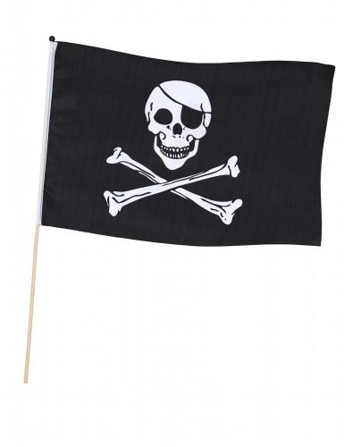 Bandeira de pirata com vareta