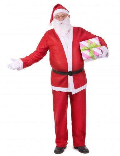 Disfarce Pai Natal para adulto