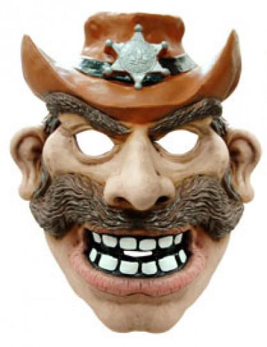 Máscara cowboy adulto