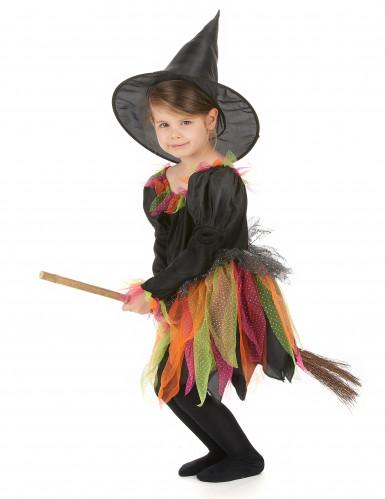 Disfarce bruxa criança Halloween-1