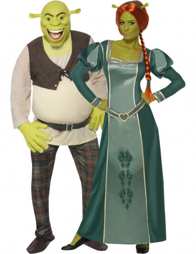 Disfarce casal Shrek e Fiona™