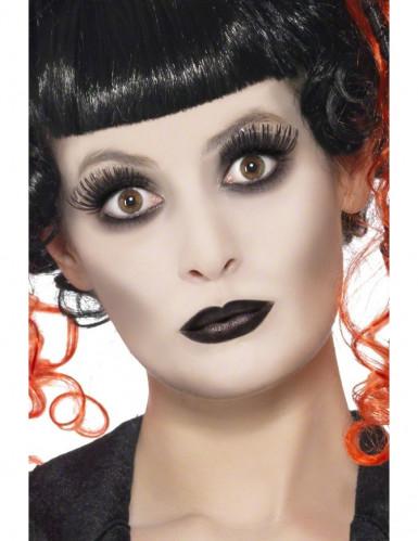 Kit maquilhagem gótico adulto Halloween