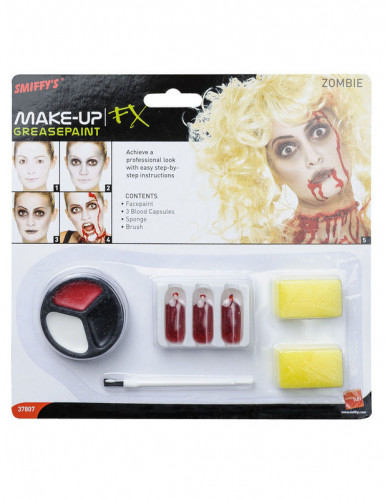 Kit de maquilhagem de zombie para mulher-1