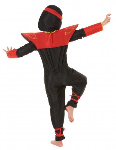 Disfarce de ninja menino dragões-2