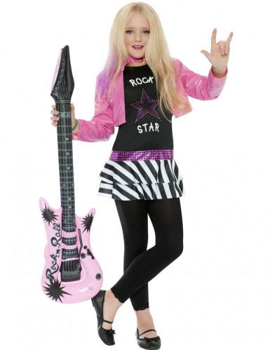 Disfarce rock star menina