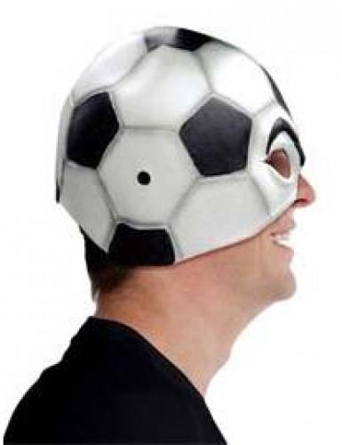 Mascarilha balão de futebol adulto-1