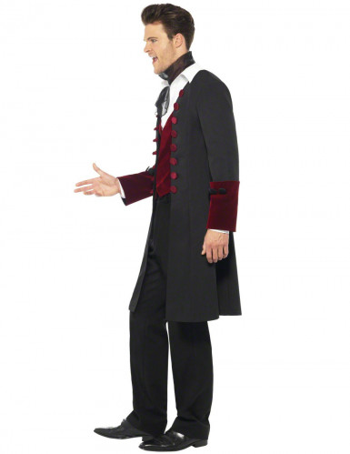 Disfarce vampiro homem Halloween-2