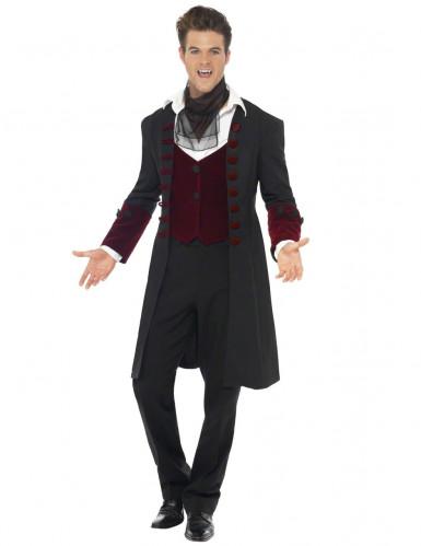 Disfarce vampiro homem Halloween-3