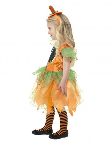 Disfarce abóbora menina Halloween -2