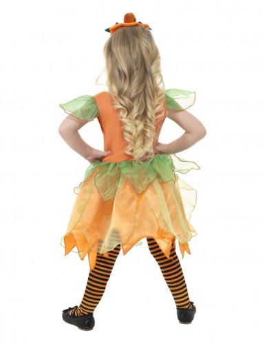 Disfarce abóbora menina Halloween -1
