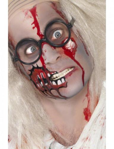 Kit maquilhagem zombie adulto Halloween