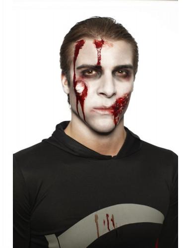 Kit maquilhagem zombie adulto para Halloween-1