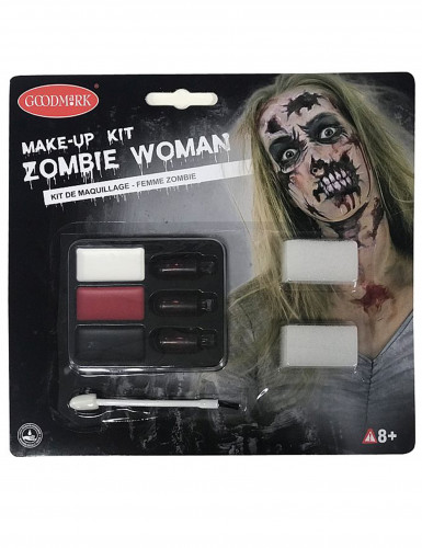 Kit maquilhagem zombies adulto-1