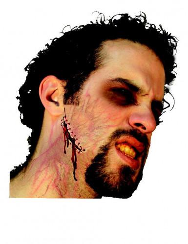 Cicatriz falsa adulto Halloween