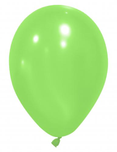 24 balões verdes