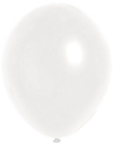 100 Balões brancos 29cm