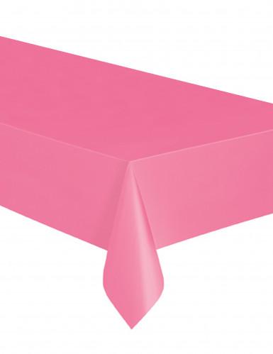 Toalha de plástico cor-de-rosa