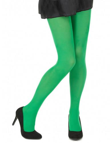 Collants verdes adulto para mulher -1