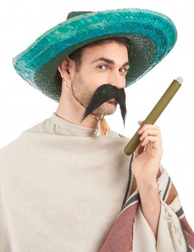 Sombrero mexicano verde adulto-1