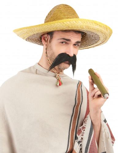Sombrero mexicano amarelo adulto-1