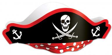 Chapéu pirata preto!