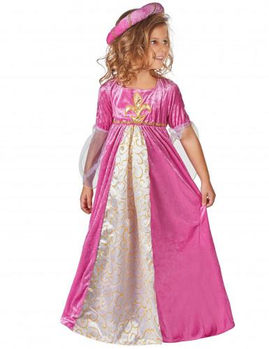 Disfarces princesa medieval menina