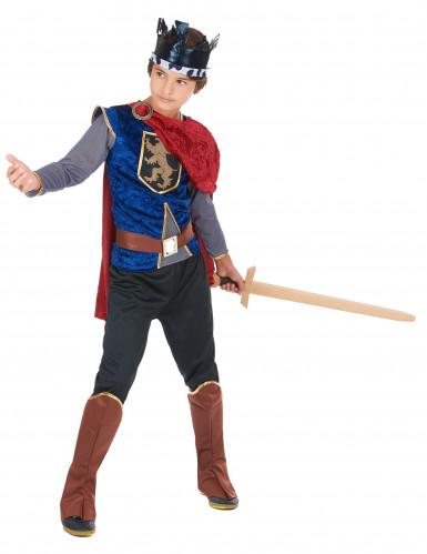 Disfarce rei medieval menino-1
