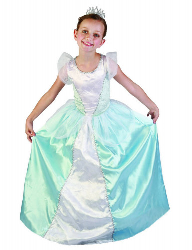 Disfarce princesa azul para menina