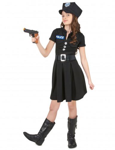 Disfarces de polícia menina-1