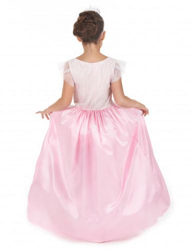 Disfarce princesa menina rosa e branco-2