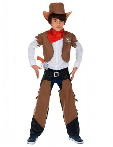 Disfarce de Cowboy menino