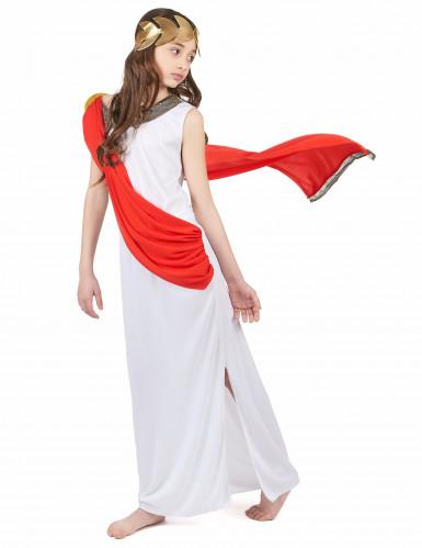 Disfarce deusa romana menina-1