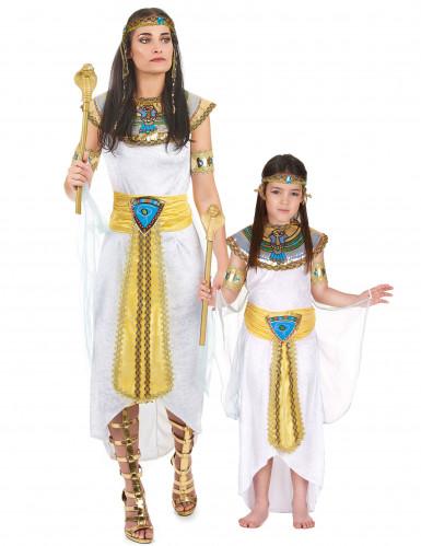 Disfarce casal de rainha do Egipto mãe e filha
