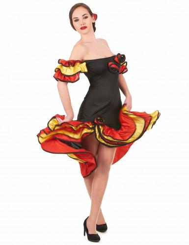 Disfarce casal dançarina flamenco para mãe e filha-1