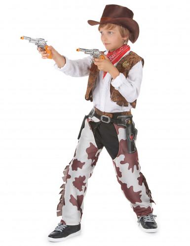Disfarce cowboy casal pai e filho-2