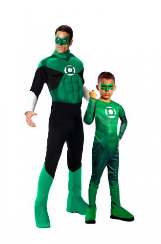 Disfarce casal Green Lantern™ pai e filho