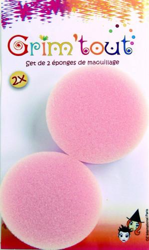 Set de 2 esponjas de maquilhagem Grim'tout de 1,5cm