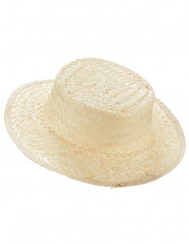Chapéu de palha adulto
