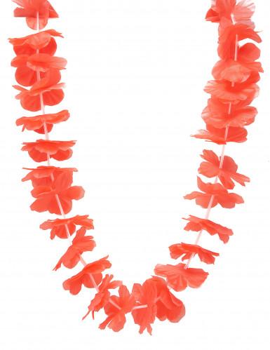 Colar havaí vermelho