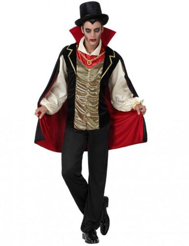 Disfarce conde vampiro homem