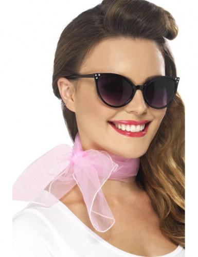 Lenço cor-de-rosa mulher