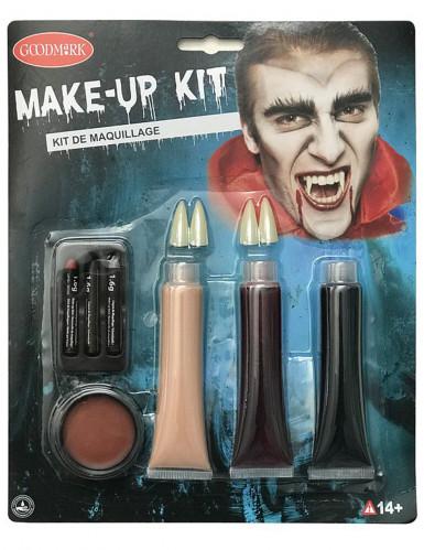Kit luxo maquilhagem vampiro Halloween