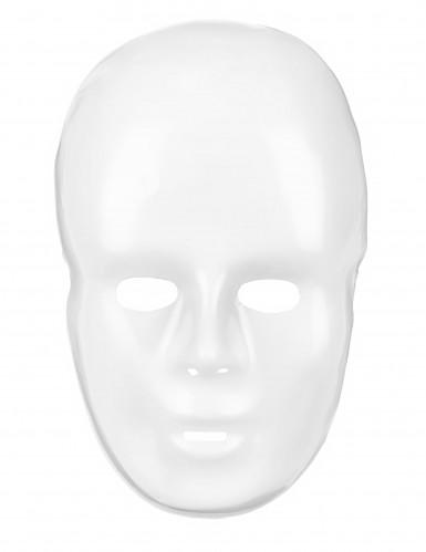 Máscara branco adulto