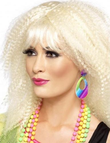 Brincos multicoloridos mulher
